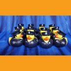 12 Law Enforcement Rubber Ducks - Police Officer