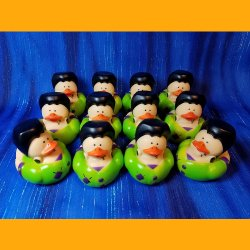 12 Halloween Frankenstein's Rubber Ducks