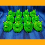 12 Grasshopper Rubber Ducks