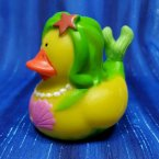 Mermaid Rubber Duck Pink and Green