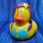 Mermaid Rubber Duck Purple