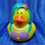 Mermaid Rubber Duck Teal
