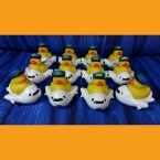 12 Airplane Rubber Ducks
