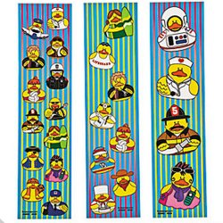 Rubber Duck Sticker Strips