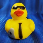 Secret Agent Geek Squad Rubber Duck Agent Q