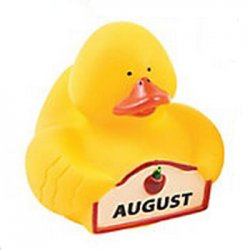 The Month of August Rubber Duck