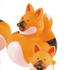 Fox Rubber Duck