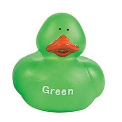 Secondary Colors Rubber Duck - Green