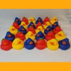 Small Fruit Salad Rubber Ducks