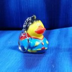 Superduck Rubber Duck Key Chain