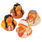 Native American Rubber Ducks