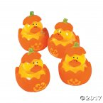 Halloween Jack O'Lantern Junior Rubber Ducks