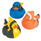 Tropical Fish Rubber Ducks