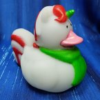 Christmas Unicorn Rubber Duck