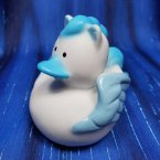 Blue Pegasus Rubber Duck