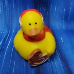 Foody Christmas Rubber Duck with Cookie