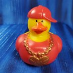 Lovin' Hip Hop Rubber Duck in Red