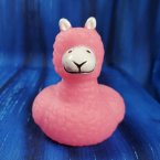 Cute Animals - Lama Rubber Duck