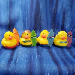 Surfer Rubber Ducks