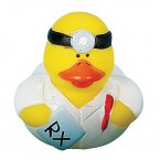 Doctor Rubber Duck with Prescription
