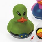 Green Alien Rubber Duck