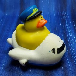 Airplane Rubber Duck