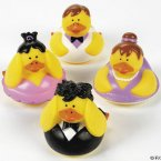 Retired Ballet Rubber Ducks