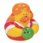 Bowling Rubber Duck - Robin