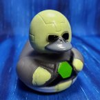 Super Villain Metal Duck Rubber Duck