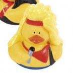 Big Hair Rubber Duck - Brett