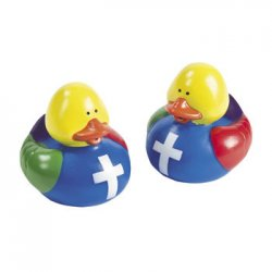 Colors of Faith Rubber Duck