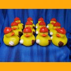 12 Baseball Rubber Ducks