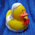 Wedding Bride Rubber Duck