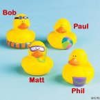 Beach Party Rubber Ducks
