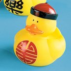 Chinese Longevity Rubber Duck