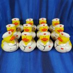 12 Nurse Stacy Rubber Ducks with Stethoscope