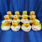 12 Nurse Teresa Rubber Ducks with Thermometer
