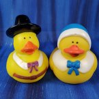 Thanksgiving Mrs. and Mrs. Smith Pilgrim Rubber Ducks