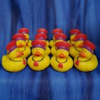 12 Thanksgiving Native American Indian Rubber Ducks
