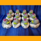 12 Zombie Orderly Rubber Ducks
