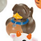 Chocolate Lab Rubber Duck
