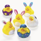 Easter Rubber Ducks