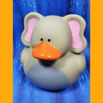 Medium Elephant Rubber Duck 3""