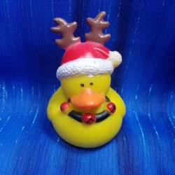 Christmas Reindeer Rubber Duck