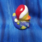 Christmas Lights Dad Rubber Duck