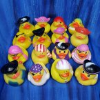 Fun Pack! 16 Pirate Rubber Ducks!