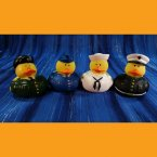 Armed Forces Military Rubber Ducks - Army Air Force Navy Marines