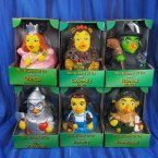 6 Wizard of Oz Dorothy TinMan Scarecrow Lion Wicked Witch Glinda