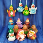 Fun Pack! 12+ Christmas Rubber Ducks!