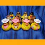 Fun Pack! 12 Cowboys, Cowgirls, and Horse Rubber Ducks
